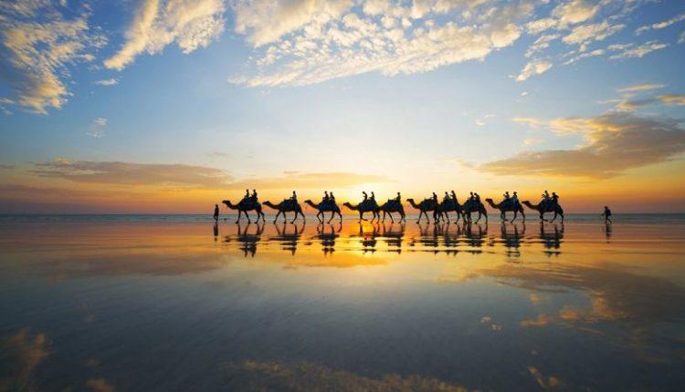 Broome là nơi biển gắn với sa mạc